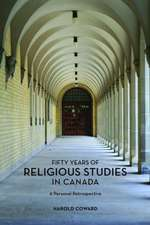 Fifty Years of Religious Studies in Canada