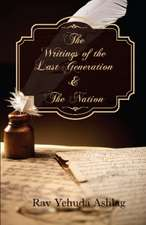 Writings of the Last Generation & the Nation