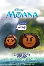 Disney Moana As Told by Emoji Cinestory Comic