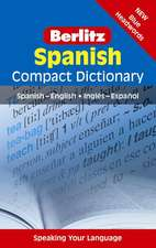 Berlitz Language: Spanish Compact Dictionary