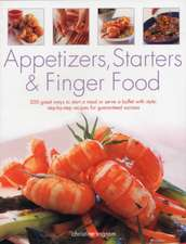 Appetizers, Starters and Finger Food