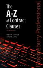 The A-Z of Contract Clauses