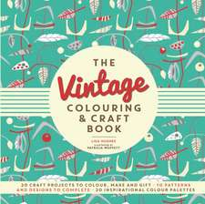 Vintage Colouring & Craft Book