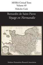 Bernardin de St Pierre, 'Voyage En Normandie':  Art, Beauty, and Culture