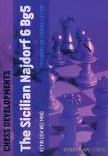 Chess Developments:  The Sicilian Najdorf 6 Bg5