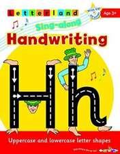 SING ALONG HANDWRITING PRACTICE BOOK CD