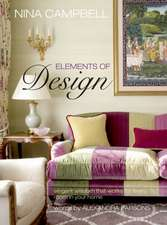 Nina Campbell Elements of Design: Elegant wisdom that works for every room in your home