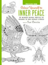 Colour Yourself to Inner Peace Postcard Book: 20 Winged Animal Motifs to Colour In and Reduce Stress