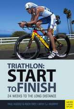 Start to Finish:  24 Weeks to an Endurance Triathlon