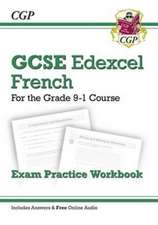 New GCSE French Edexcel Exam Practice Workbook for 9-1 (with