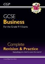 New GCSE Business Complete Revision and Practice - For the Grade 9-1 Course (with Online Edition)