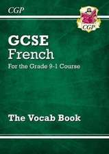 New GCSE French Vocab Book - for the Grade 9-1 Course