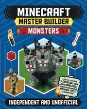 MINECRAFT MASTER BUILDER MONSTERS