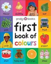 Priddy, R: First Book of Colours (Large Ed)