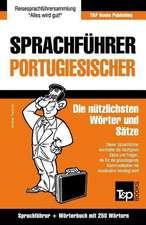 Sprachfuhrer Deutsch-Portugiesisch Und Mini-Worterbuch Mit 250 Wortern