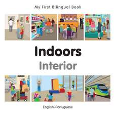 My First Bilingual Book-Indoors (English-Portuguese):  The Year of the Rabbit