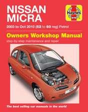 Nissan Micra Owner's Workshop Manual