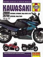 Kawasaki ZX600 (GPZ600R, GPX600R, Ninja 600R & RX) & ZX750 (GPX750R, Ninja 750R) Fours (85 - 97) Haynes Repair Manual