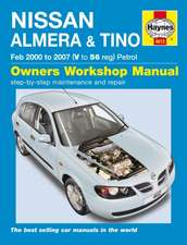 Nissan Almera & Tino Service And Repair Manual