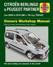 Citroen Berlingo & Peugeot Partner Diesel (June 08 - 16) 08 to 16 Haynes Repair Manual