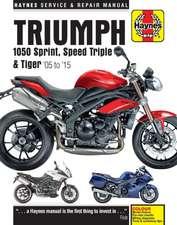 Triumph 1050 Sprint, Speed Triple & Tiger Update (