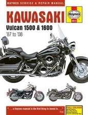 Kawasaki Vulcan 1500 & 1600 (87 - 08) Haynes Repair Manual