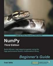 Numpy Beginner's Guide - Third Edition