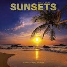Sunsets Calendar 2018
