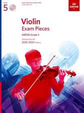 Violin Exam Pieces 2020-2023, ABRSM Grade 5, Score, Part & CD: Selected from the 2020-2023 syllabus