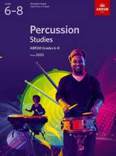 Percussion Studies, ABRSM Grades 6-8: from 2020
