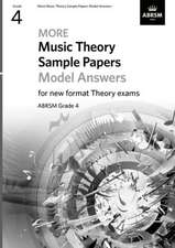 More Music Theory Sample Papers Model Answers, ABRSM Grade 4