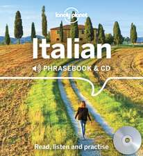Lonely Planet Italian Phrasebook and CD