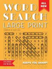 Word Search Large Print (Orange): Word Play Twists and Challenges