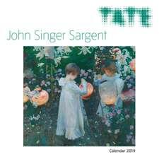 Tate - John Singer Sargent Wall Calendar 2019 (Art Calendar)