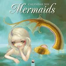 Mermaids Wall Calendar 2019 (Art Calendar)