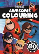INCREDIBLES 2: Awesome Colouring