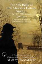 The MX Book of New Sherlock Holmes Stories Part XX
