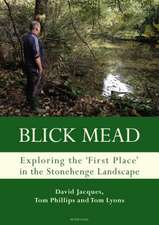 Blick Mead: Exploring the 'first place' in the Stonehenge landscape
