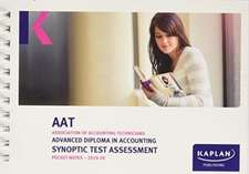 ADVANCED DIPLOMA IN ACCOUNTING SYNOPTIC TEST ASSESSMENT - POCKET NOTES