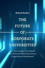 The Future of Corporate Universities