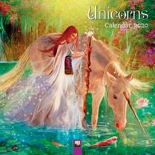 Unicorns Wall Calendar 2020 (Art Calendar)