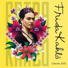 Frida Kahlo Mini Wall calendar 2020 (Art Calendar)