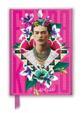 Frida Kahlo Pink (Foiled Journal)