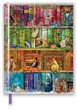 Aimee Stewart: A Stitch in Time Bookshelf (Blank Sketch Book)