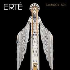 Erté Wall Calendar 2021 (Art Calendar)