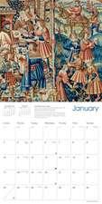 Glasgow Museums - Tapestries Wall Calendar 2021 (Art Calendar)