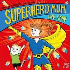 Superhero Mum and Son