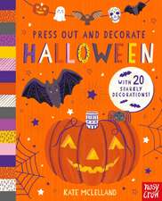 Press Out and Decorate: Halloween