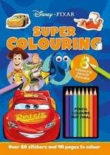 PIXAR: Colouring Fun