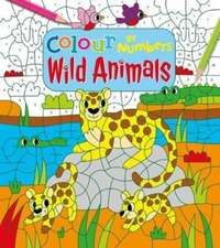 COLOUR BY NUMBERS WILD ANIMALS
